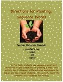 Directions for Planting a Seed: Sequence Words