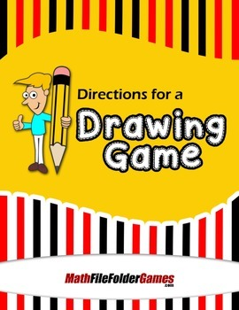 Directions for a Drawing Game {Measurement Activity}