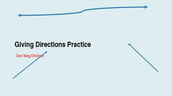 Directions- Den Weg erklären