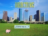 Directions in Spanish