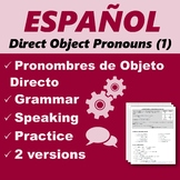 Español: Pronombres de Objeto Directo 1 (Spanish: Direct O