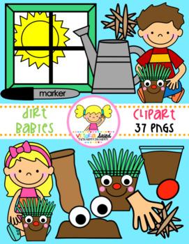 Dirt Babies Clipart