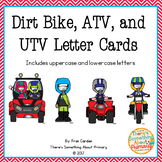 Dirt Bike, ATV, and UTV Letter Cards