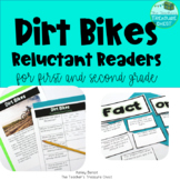 Dirt Bikes {A Resource for Reluctant Readers}