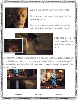 "Dirt Devil vacuum commercial Movie Talk ""El exorcismo"" + Reading/Activities"