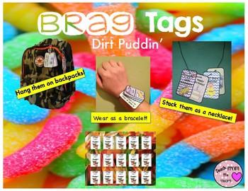 Dirt Puddin' Brag Tags FREEBIE