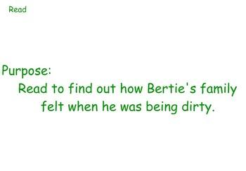 Dirty Bertie Week Long Guided Reading Unit - Four Blocks Literacy