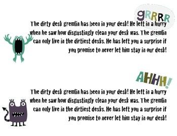 Dirty Desk Gremlin
