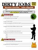 Dirty Jobs : Aerial Tram Greaser (career video worksheet)