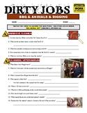 Dirty Jobs : Big Animal Vet (career video worksheet)