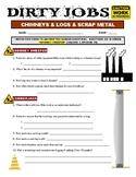 Dirty Jobs : Chimney Sweeper (video worksheet)