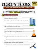 Dirty Jobs : High Rise Window Washer (career video worksheet)