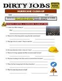 Dirty Jobs : Hurricane Clean Up (video worksheet)