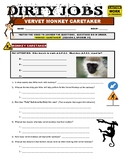 Dirty Jobs : Monkey Caretaker (career video worksheet)