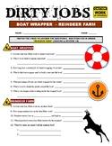Dirty Jobs : Reindeer Farm (Science Career Video Worksheet)