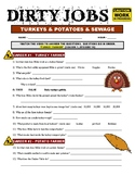 Dirty Jobs : Turkey Farmer (video worksheet) - Thanksgiving