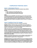 Disability & Autism Awareness Unit