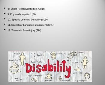 Disability Awareness PowerPoint