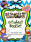 Disability Awareness Student Booklet {FREE}