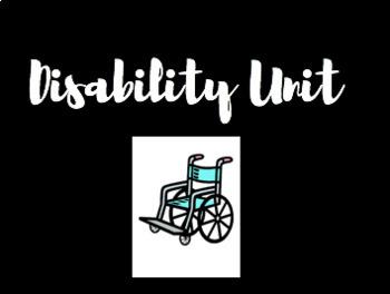 Disability Books Unit Book List Slide Show