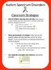 Disability Fact Sheet - Autism Classroom Strategies