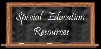 Special Education: Disability At your Fingertips Chart