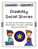 Intermediate and Middle School Disability Social Stories