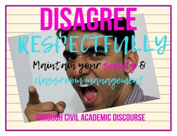 Disagree Respectfully