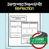 Disagreeing Respectfully Activity, Respect Activity, Kindness Activity