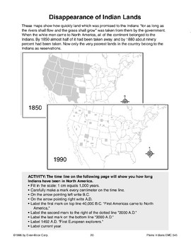 Disappearance of Indian Lands
