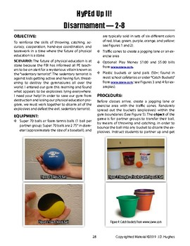 Disarmament PE Game w/ Scenario of Throwing, Catching, & Accuracy