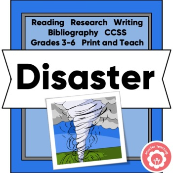 Researching Disasters: Writing Nonfiction Chapters