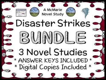 Disaster Strikes BUNDLE (Marlane Kennedy) 3 Novel Studies / Comprehension