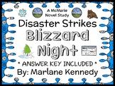 Disaster Strikes: Blizzard Night (Marlane Kennedy) Novel Study / Comprehension