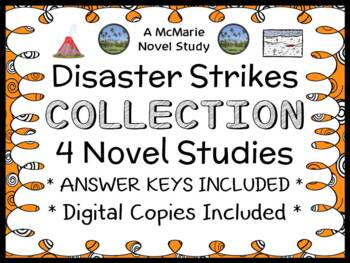 Disaster Strikes COLLECTION (Marlane Kennedy) 4 Novel Studies / Comprehension