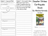 Disaster Strikes: Earthquake Shock Comprehension Tri-fold