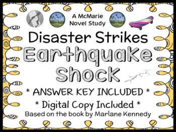 Disaster Strikes: Earthquake Shock (Marlane Kennedy) Novel Study / Comprehension