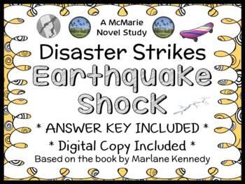 Disaster Strikes: Earthquake Shock (Marlane Kennedy) Novel