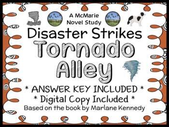 Disaster Strikes: Tornado Alley (Marlane Kennedy) Novel Study / Comprehension
