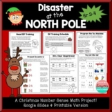 Disaster at the North Pole- Christmas Math Mini Project Gr. 3-5