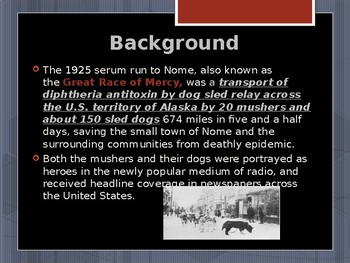 Disasters & Events That Shaped America - Alaska Iditarod Rescue - 1925