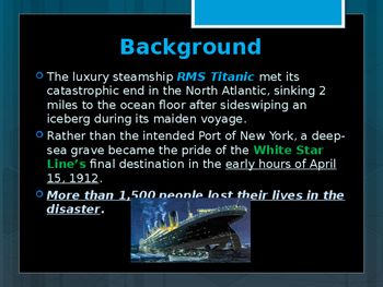 Disasters & Events That Shaped America - Sinking of the Titanic - 1912