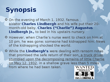 Disasters & Events That Shaped America - Kidnapping of the Lindbergh Baby - 1932