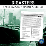 World Disasters Reading Passages