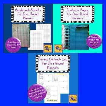 Teacher Planner/Happy Planner - Product Bundle