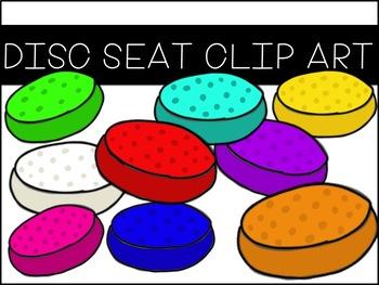 Disc Seat Clip Art