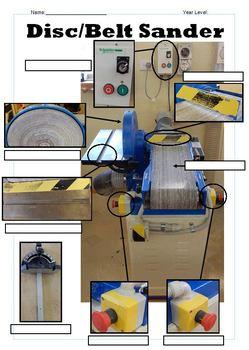 Disc and Belt Sander Worksheet