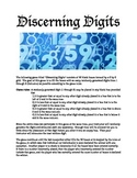 Discerning Digits - A math probability Game