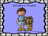 Disciples vs. Prophets Powerpoint Game