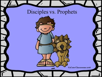 Disciples vs. Prophets Powerpoint Game